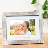 "Pearhead's ""me and my aunt"" sentiment frame"