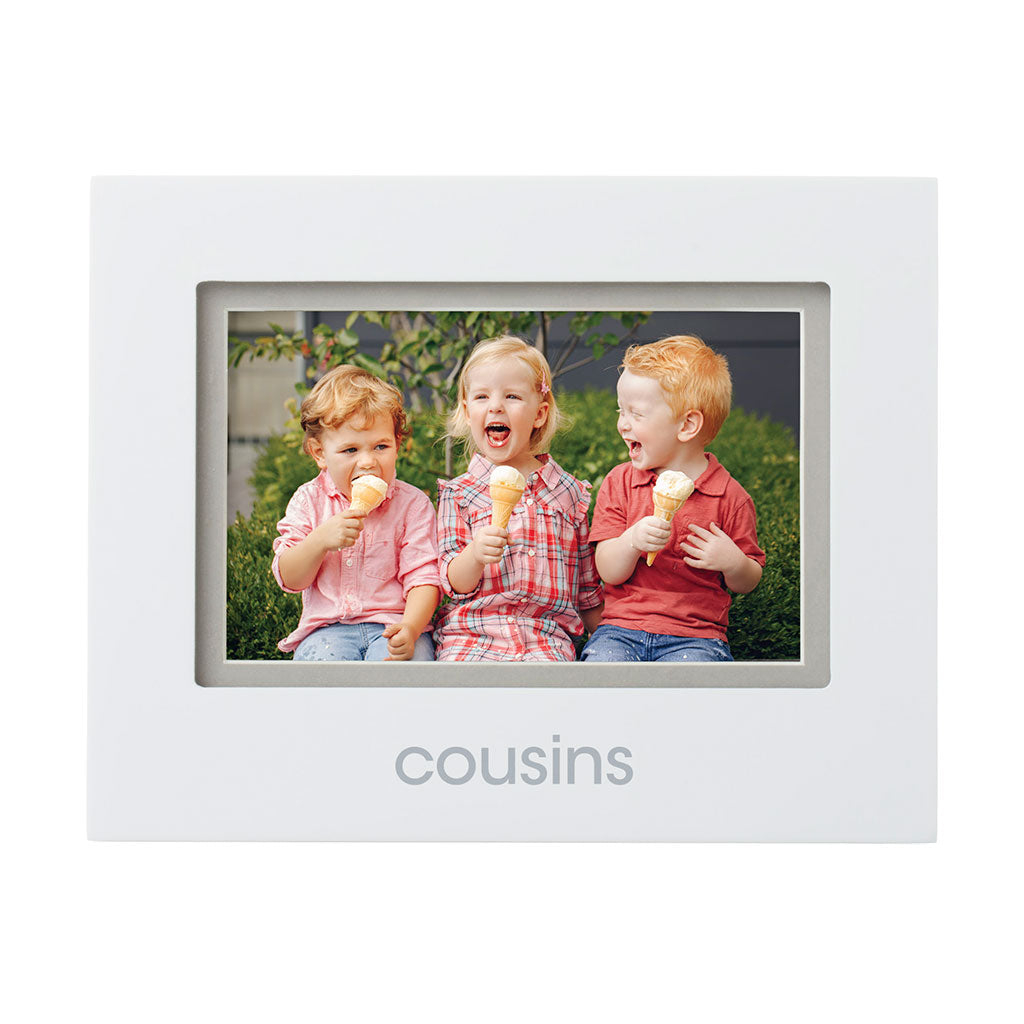 Pearhead's cousins sentiment frame