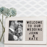 Pearhead's wedding letterboard frame