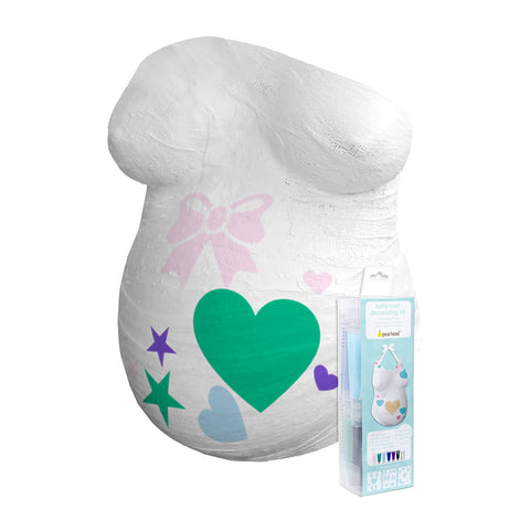 pearhead's belly cast decorating kit