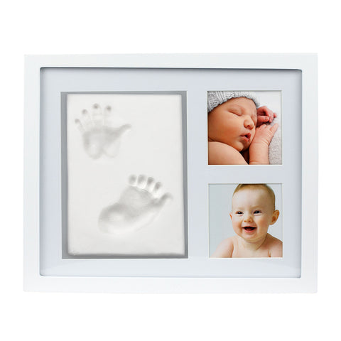 pearhead's babyprints keepsake frame kit