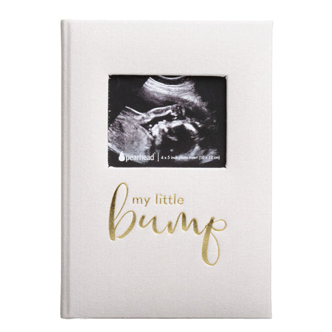 Pearhead's linen pregnancy journal