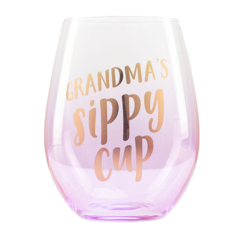 Pearhead's Grandma's Sippy Cup Wine Glass
