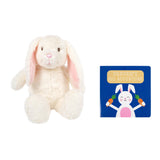 Pearhead's bunny & board book set