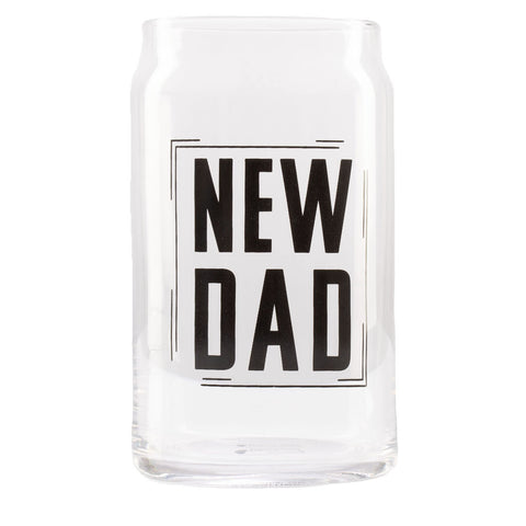 Pearhead's New Dad Beer Glass