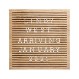 Pearhead's natural wood letterboard
