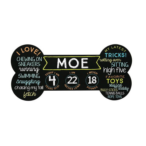 pet chalkboard photo prop