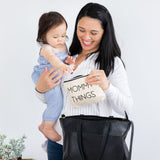 Pearhead's mommy and baby travel pouch