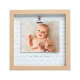 Pearhead's so little so loved sentiment clip frame