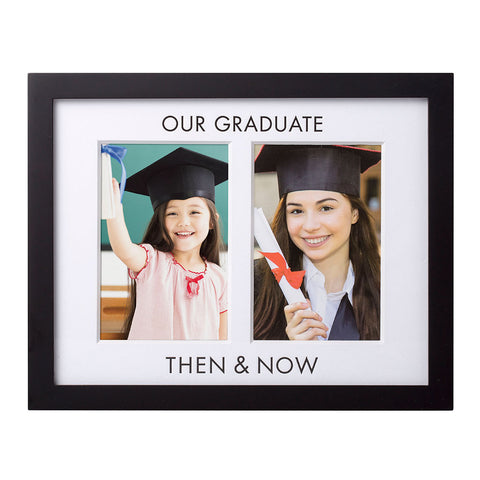 Pearhead's graduation then and now frame