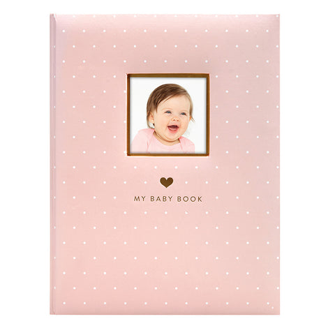 pearhead's sweet welcome babybook