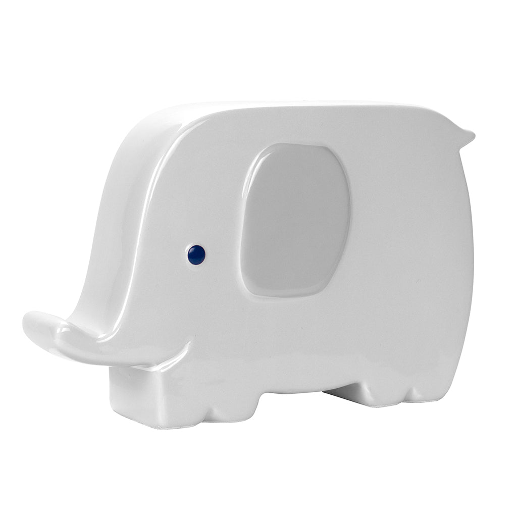 pearhead's best buddies gray elephant bank