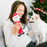Pearhead's santa paws dog toy