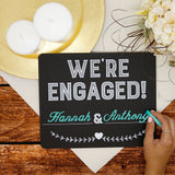 pearhead's wedding chalkboard set