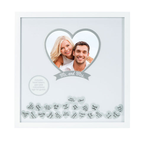 wedding wishes frame