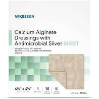 Calcium Alginate Dressing Silver Sheet