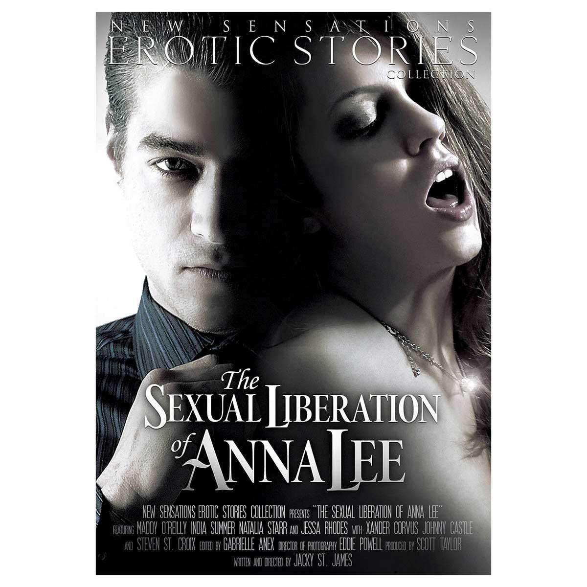New Sensations Erotic Stories: Sexual Liberation of Anna Lee DVD