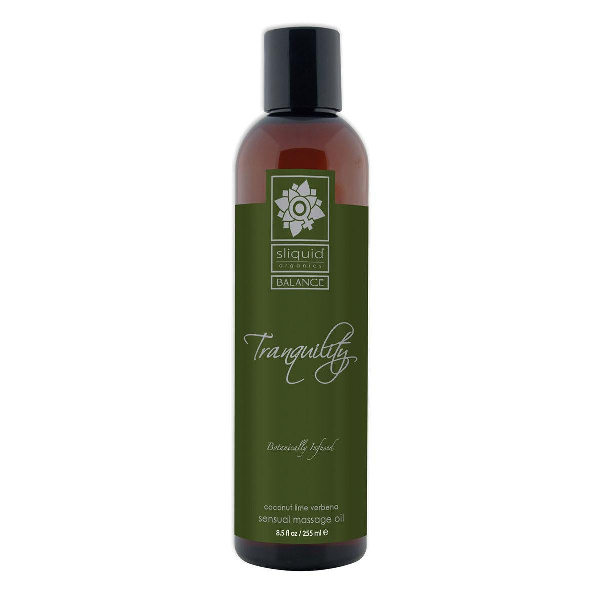 Sliquid Organics Massage Oil Tranquility 8.5oz