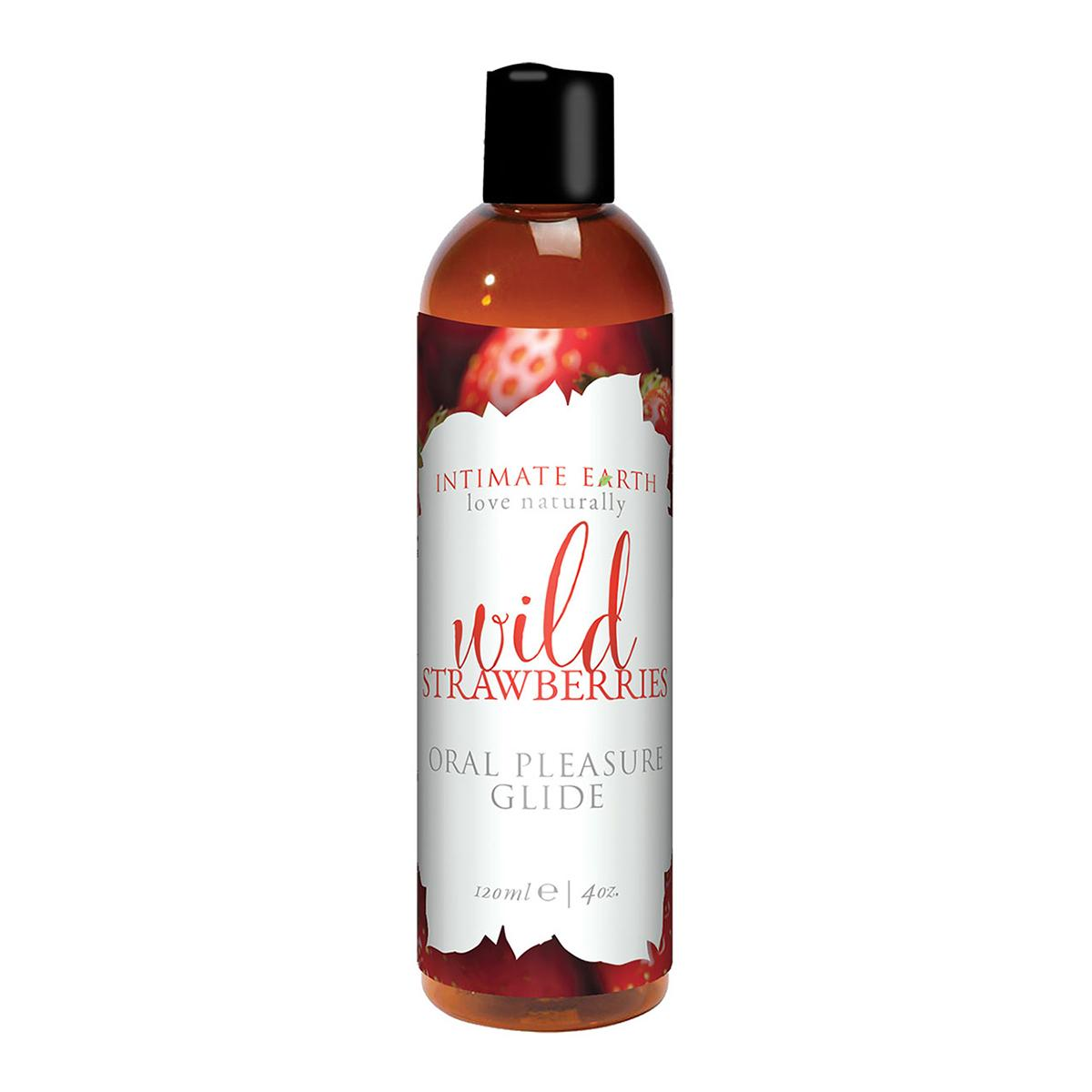 Intimate Earth Flavored Strawberry 4oz.
