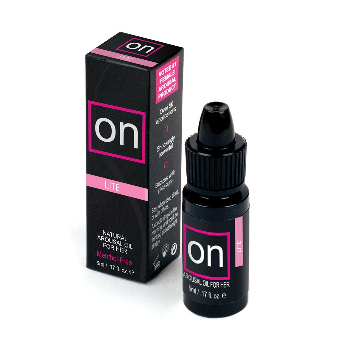Sensuva ON for Her Arousal Oil Lite - 5ml