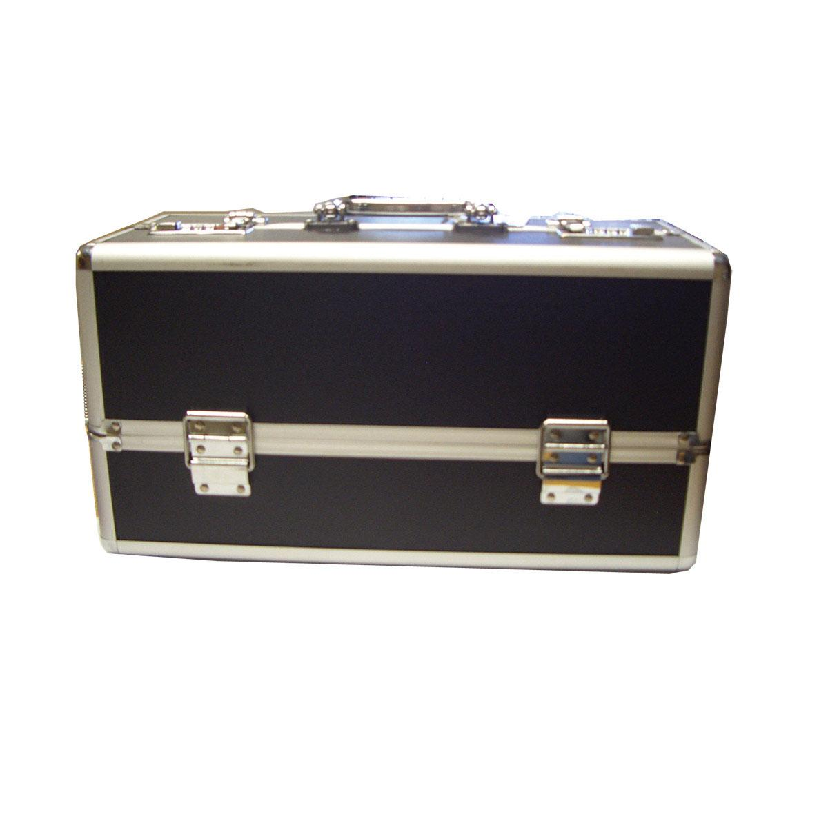 "Lockable Toy Box Large (15""x8""x7"") - Black"