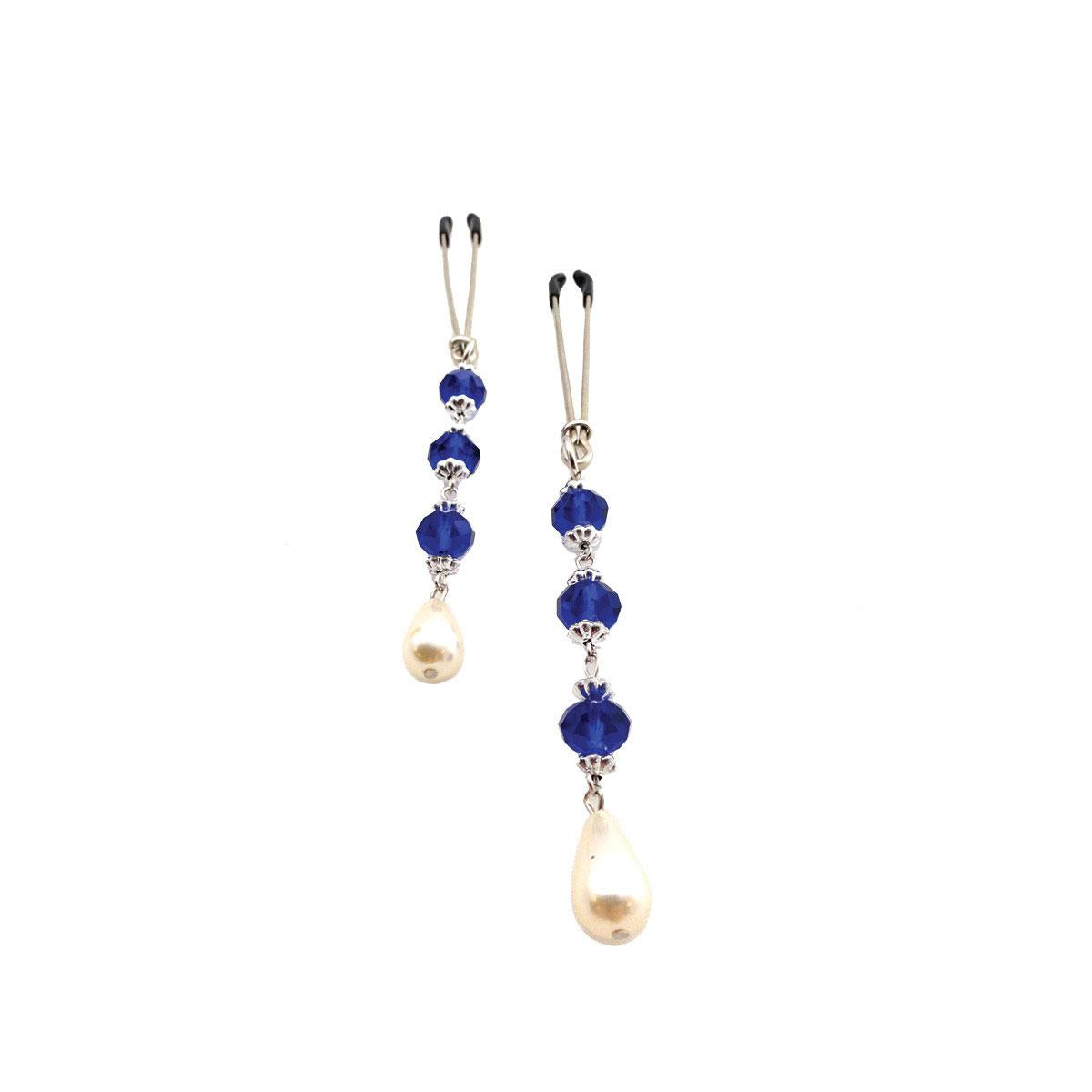 Bijoux de Nip Pearl Dark Blue Beads
