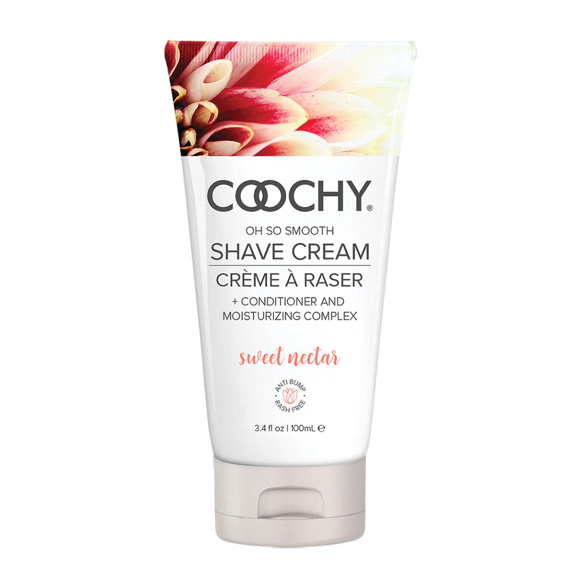 Coochy Shave Cream 3.4oz - Sweet Nectar