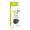 Quickie Ball Gag Large - Black