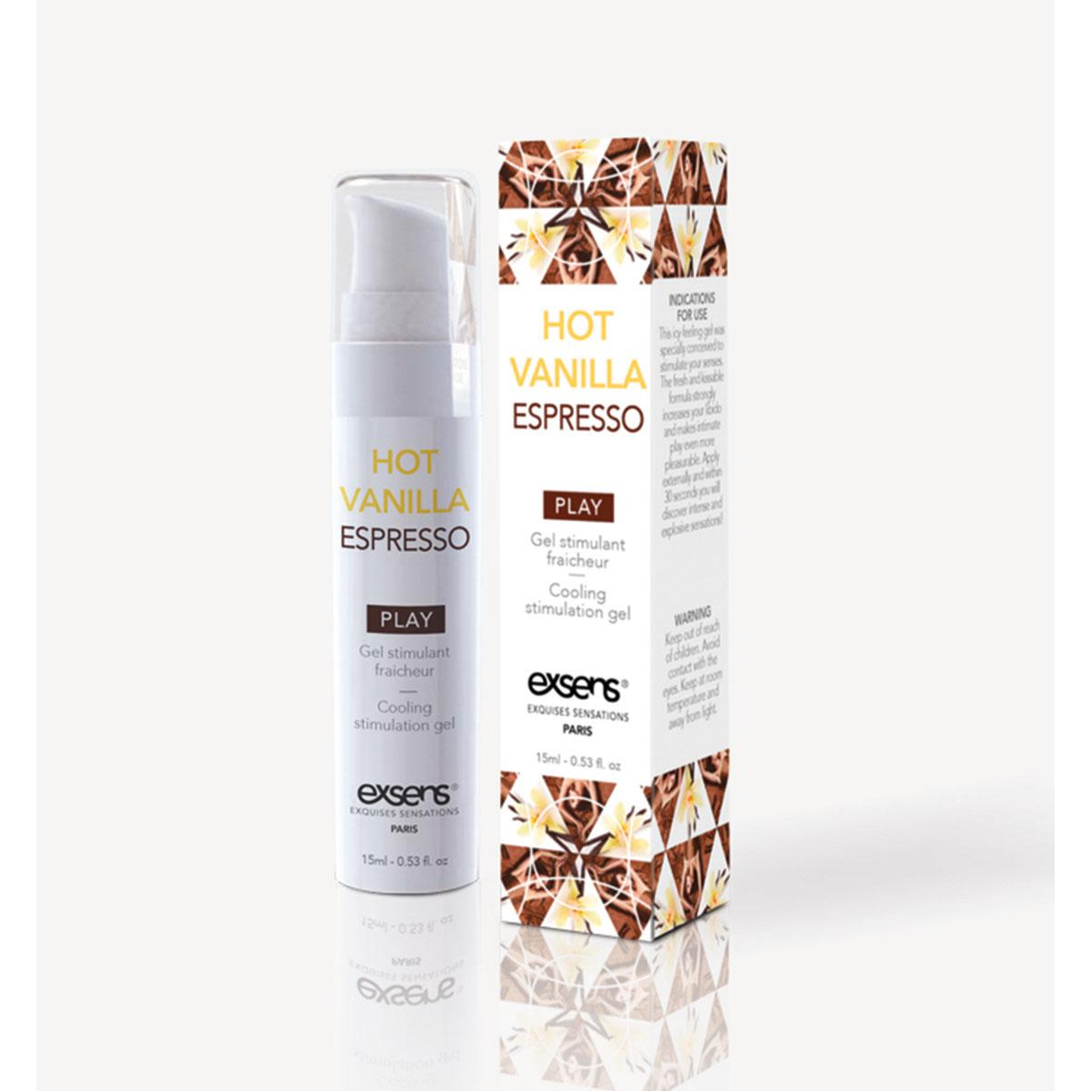 Exsens Arousal Gel 15ml - Vanilla Espresso