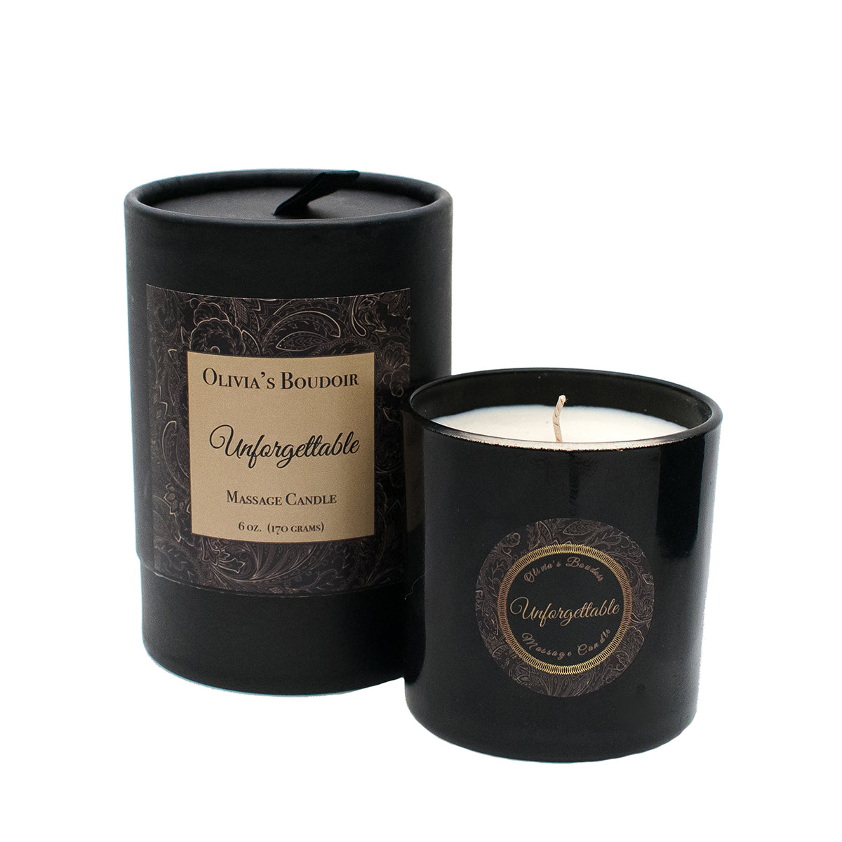 Olivia's Boudoir Candle 6.5oz - Unforgettable