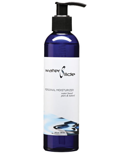 Earthly Body Waterslide Personal Lubricant W-carrageenan - 8 Oz Bottle