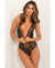 Rene Rofe Aim To Tease Bodysuit Black