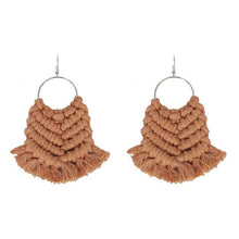 Load image into Gallery viewer, Handmade Macrame Earrings