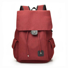 Load image into Gallery viewer, USB Charging Laptop Backpack