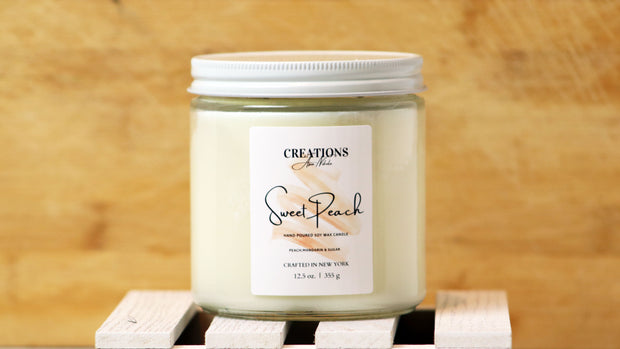Sweet Peach- Soy Wax Candle 1