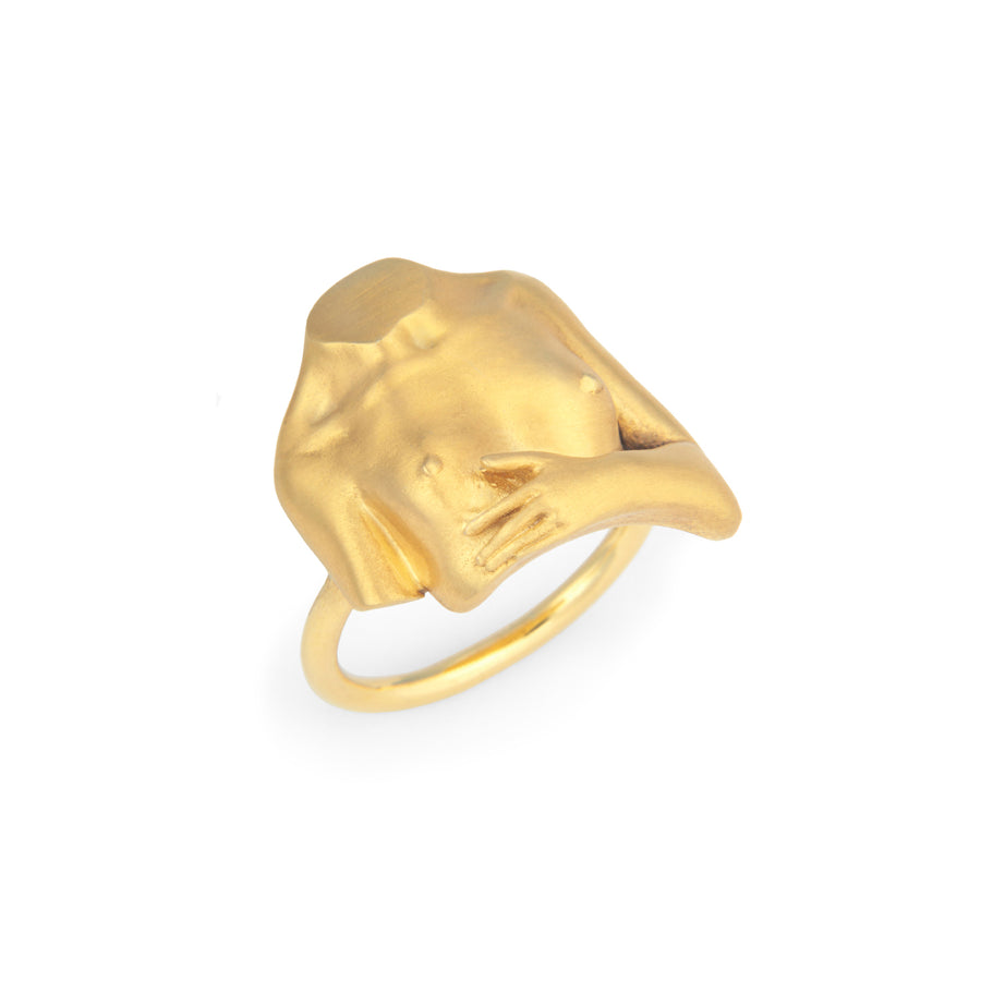Joan Ring Gold Plated