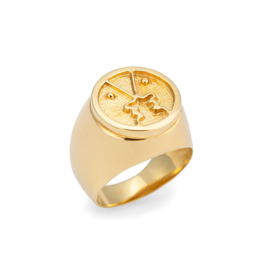 Henri Ring Gold Plated