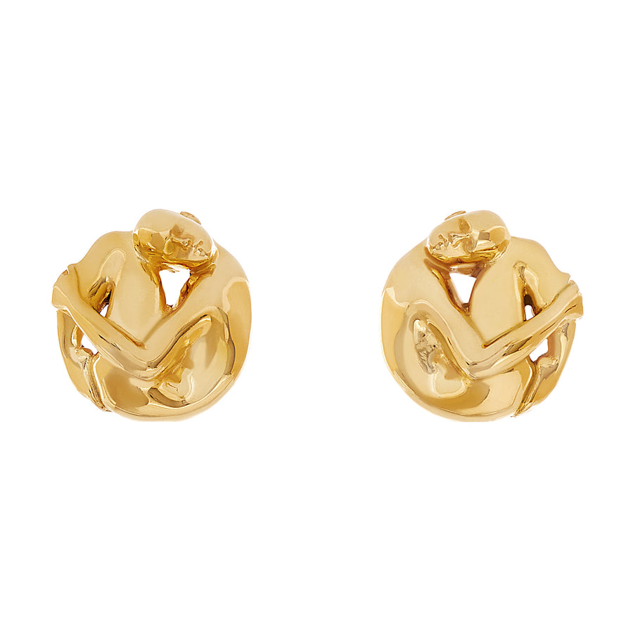 Cocoon Eugênia Earrings Gold Plated