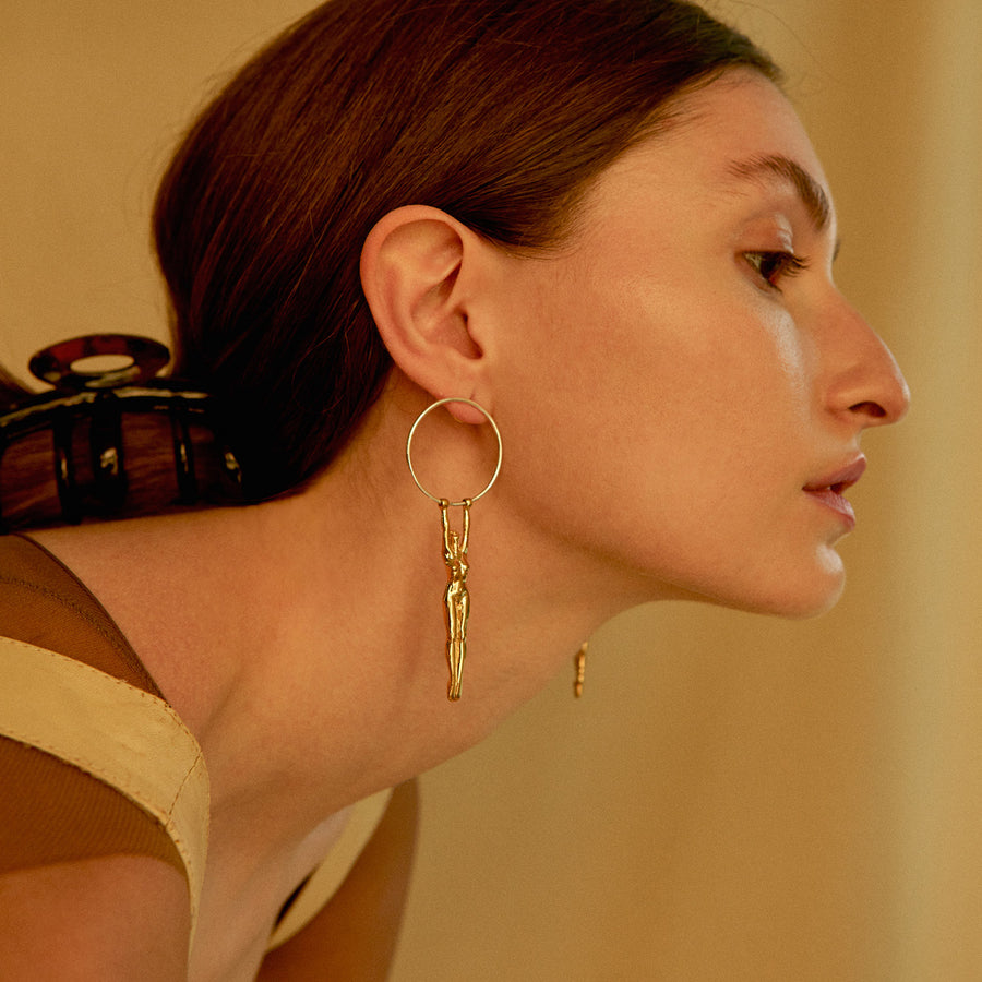 Louise Hoop Earrings