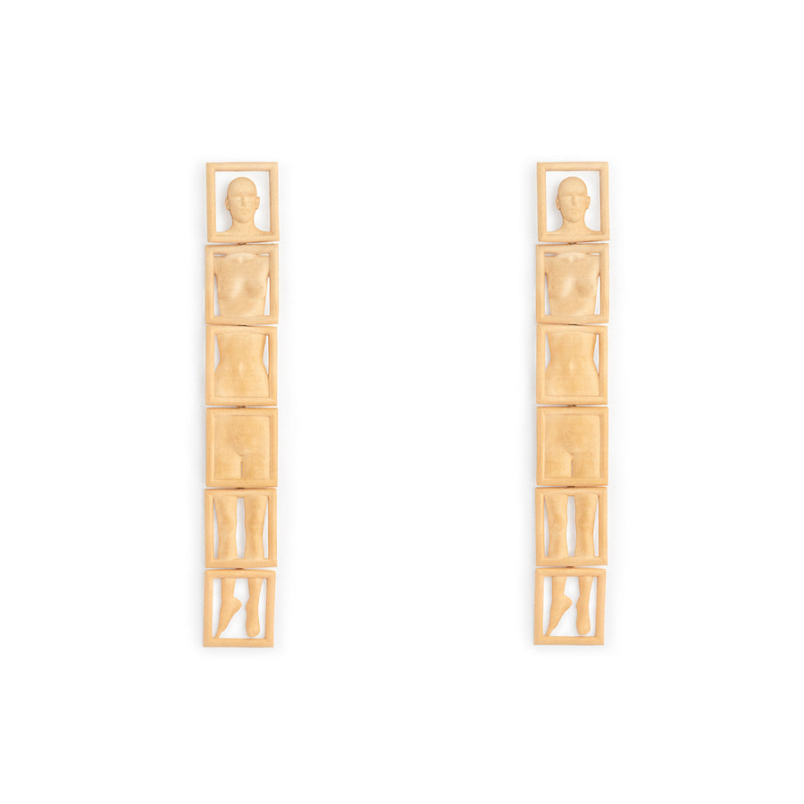 Leonora Earrings Gold Plated
