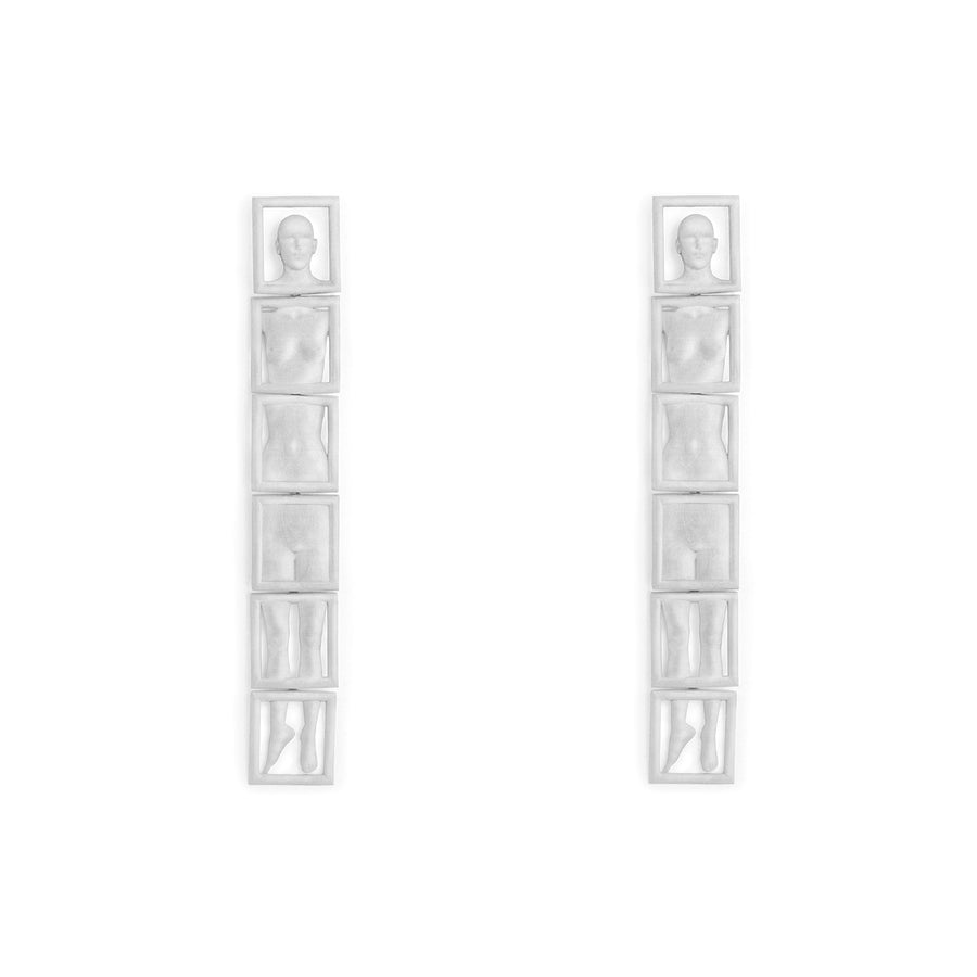 Leonora Earrings Silver