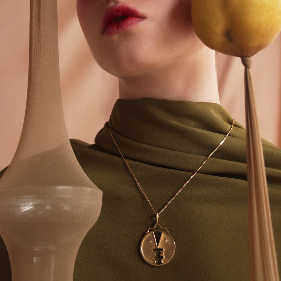 Henri Pendant Gold Plated