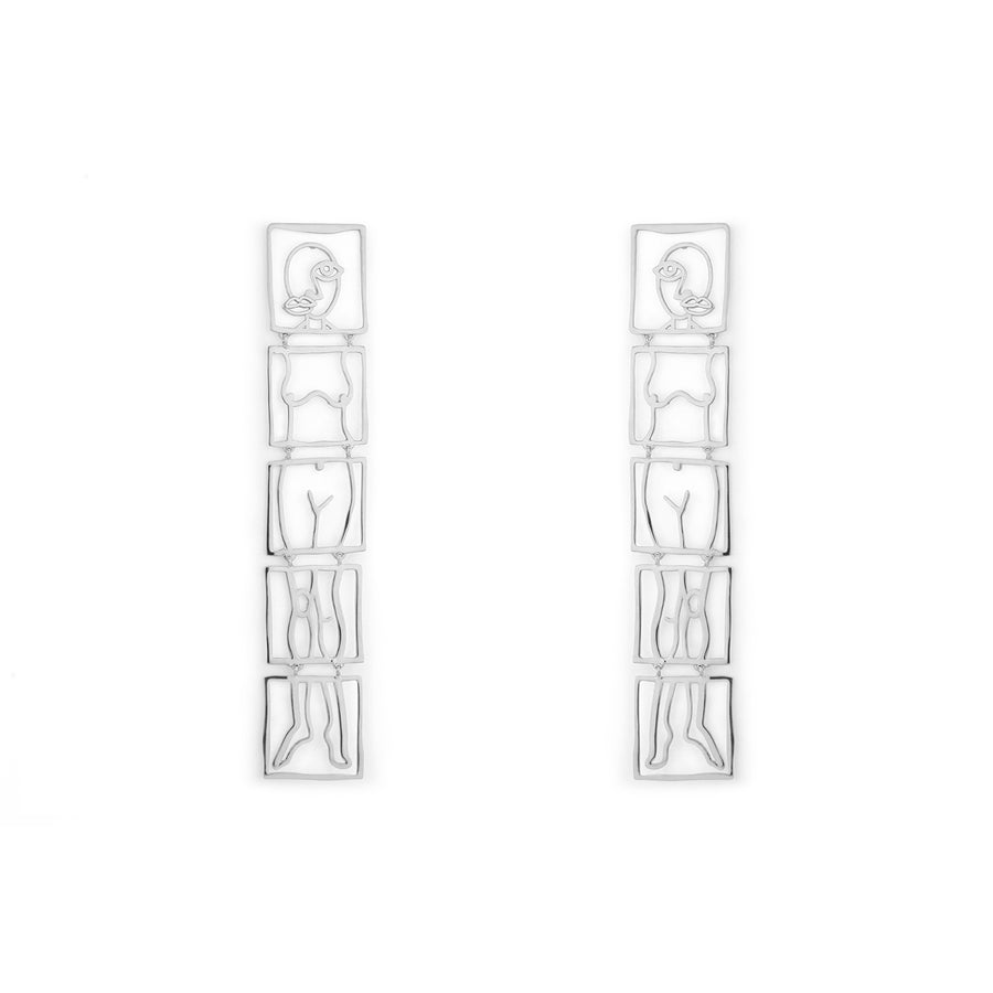 Hilma Earrings Silver