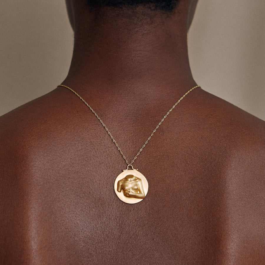 Joan Pendant Gold Plated