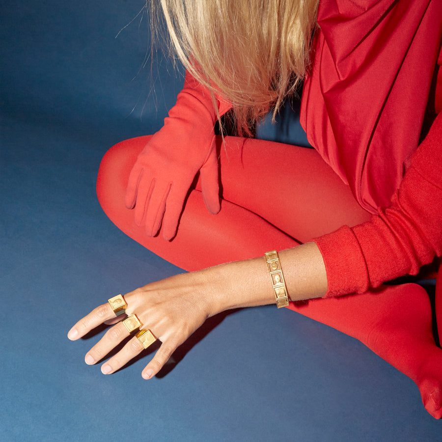 Leonora Ring Gold Plated