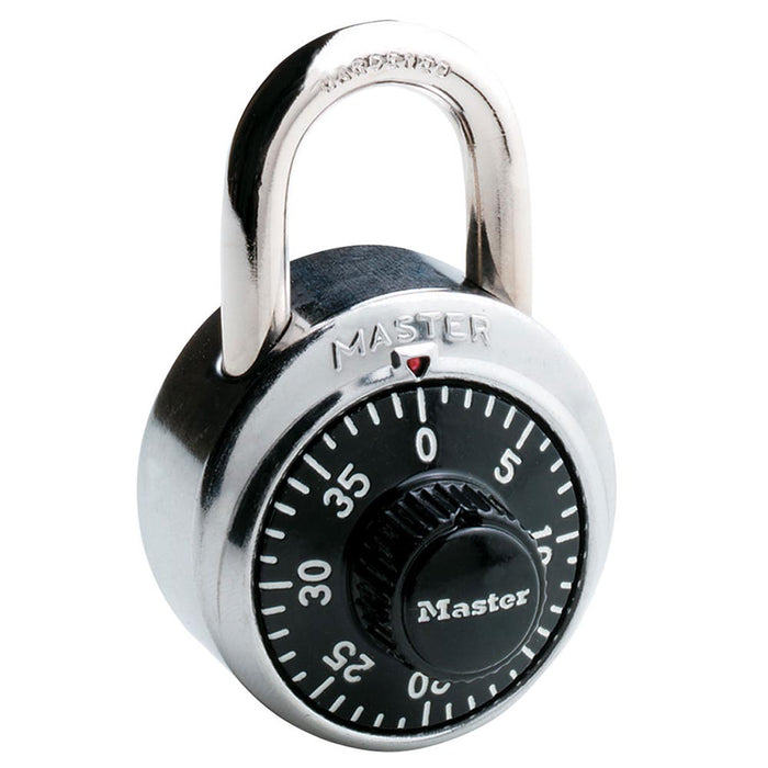 Master Lock 1502 Combination Padlock 1-7/8in (48mm) wide 3/4in tall shackle