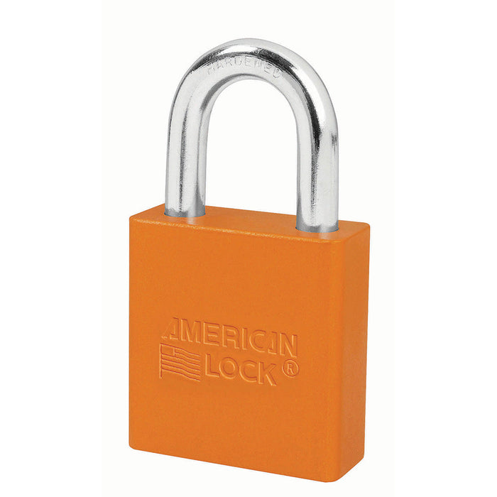 American Lock A1205 Anodized Aluminum Padlock 1-3/4in (44mm) wide 1-1/8in tall shackle