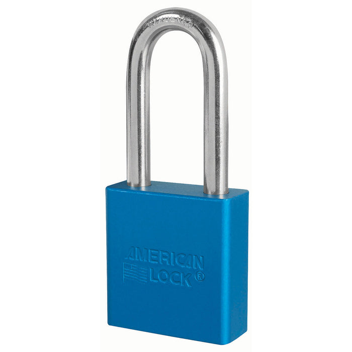 American Lock A1206 Anodized Aluminum Padlock 1-3/4in (44mm) wide 2in tall shackle