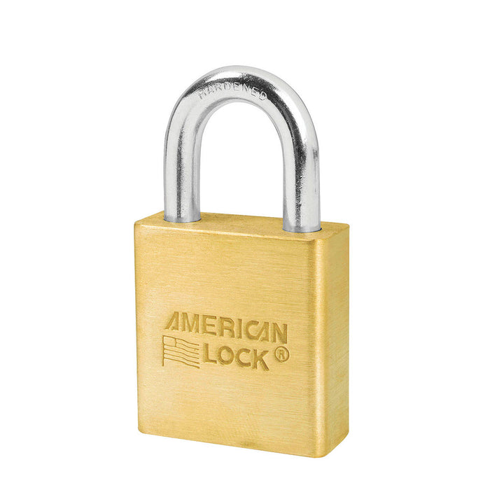 American Lock A5560 Solid Brass Padlock 1-3/4in (44mm) wide 1-1/8in tall shackle