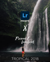 Load image into Gallery viewer, Pierre t lambert lightroom tropical presets 2018